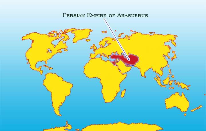 Ahasverus Persiske rike Fra år485 til 465 f Kr