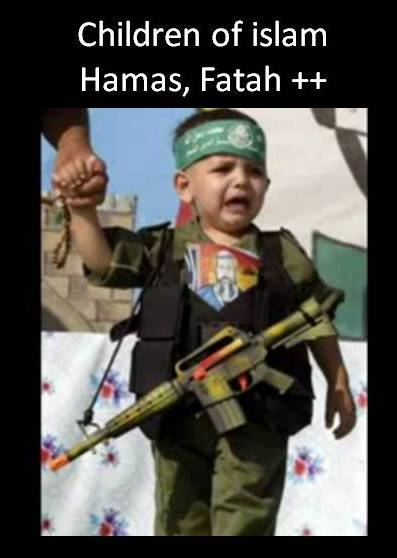 Barn av islam Hamas palestine children arab muslim TV