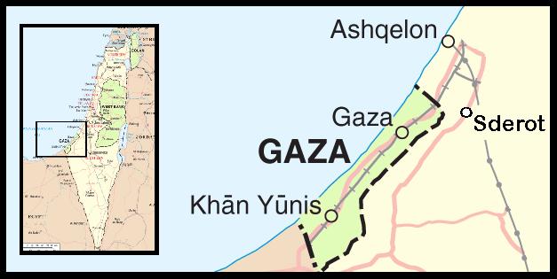 Sderot Gaza Israel