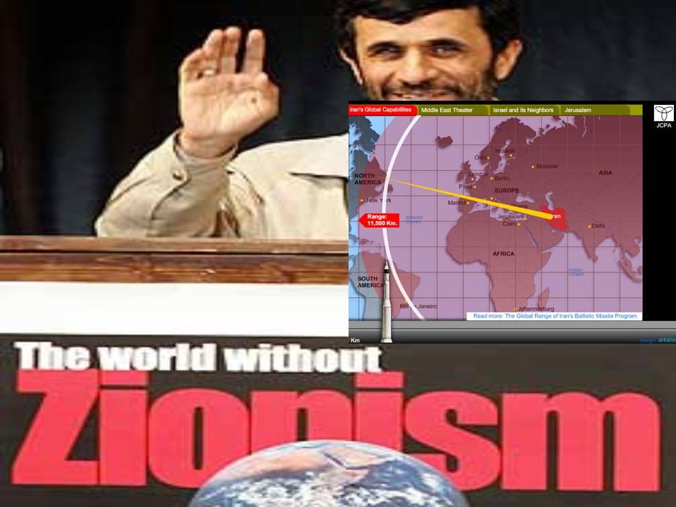 Iran antizionism nuclearmissiles raketter Shia islam
