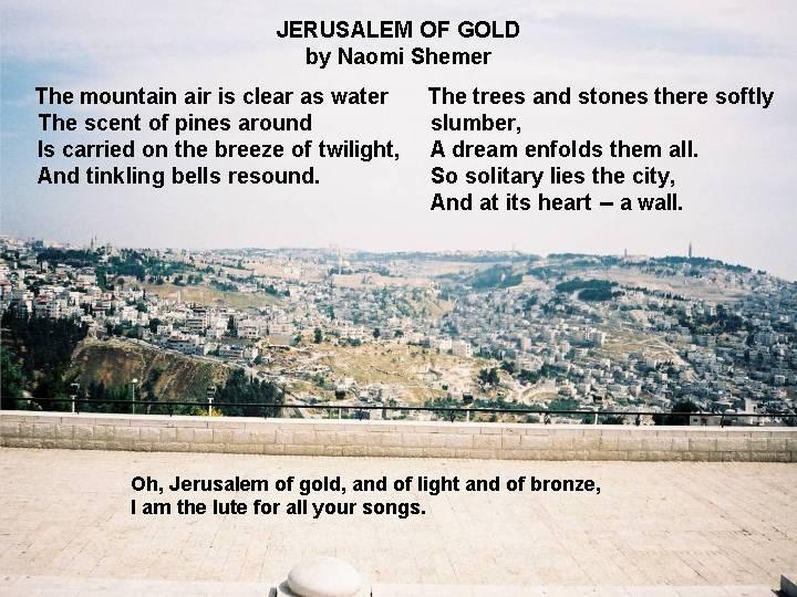 Jerusalem av gull
