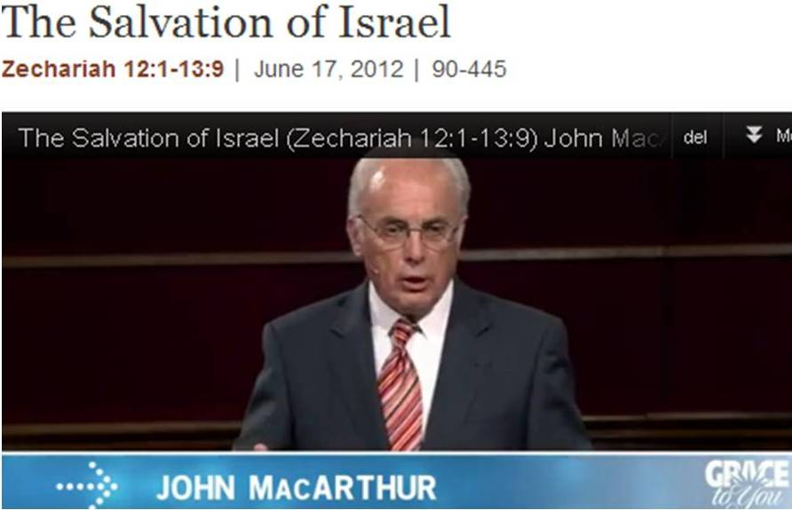 The Salvation of Israel