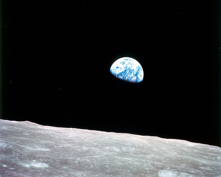 earth moon jorden Apollo 8 Christmas eve 1968