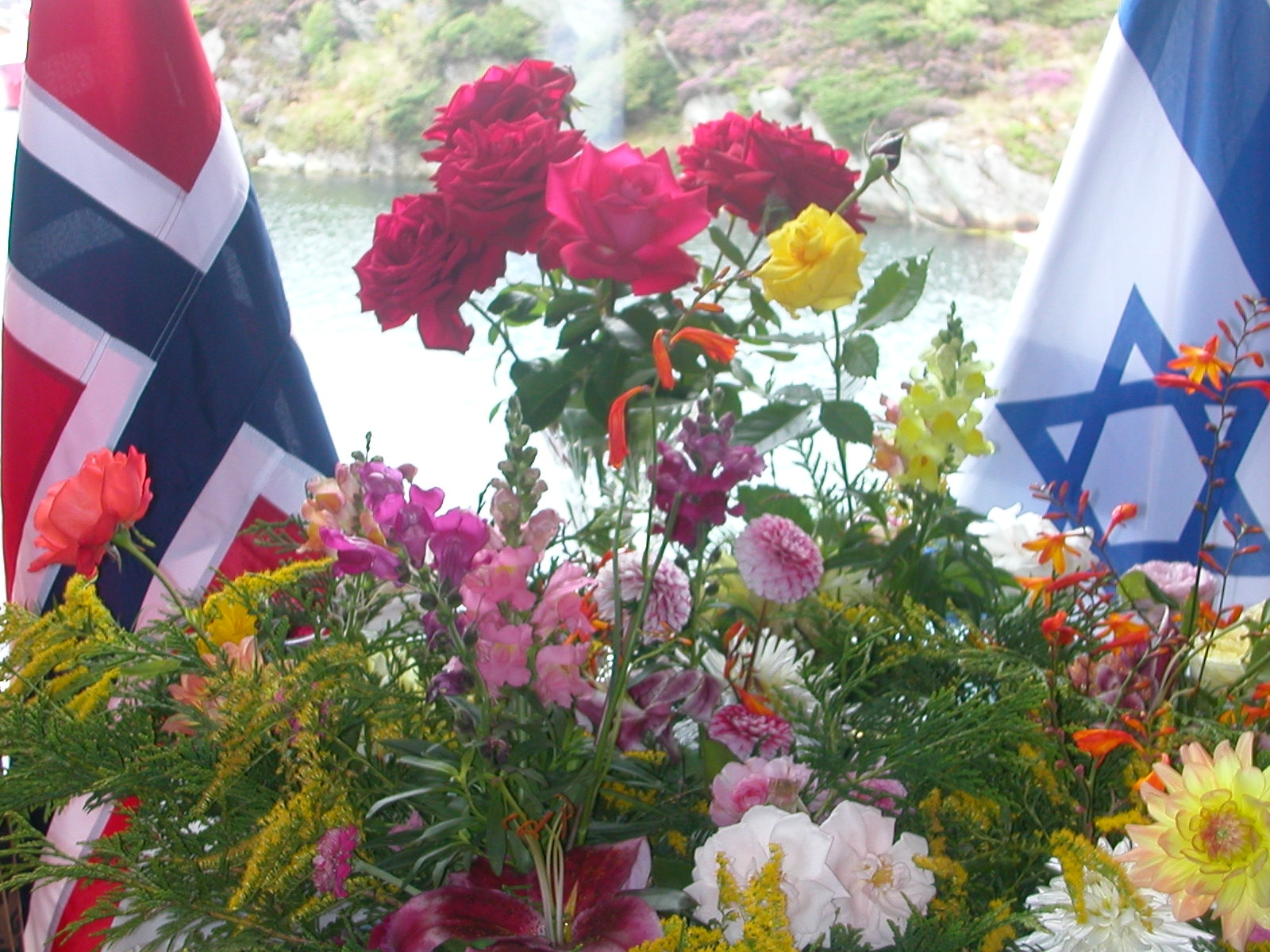 Shalom Israel friendship Norwegians and Jews