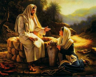 Yeshua and the woman from Samaria