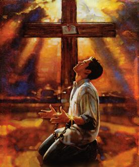 omvendelse syndsbekjennelse syndenes forlatelse av nåde ved korset hos Jesus Kristus